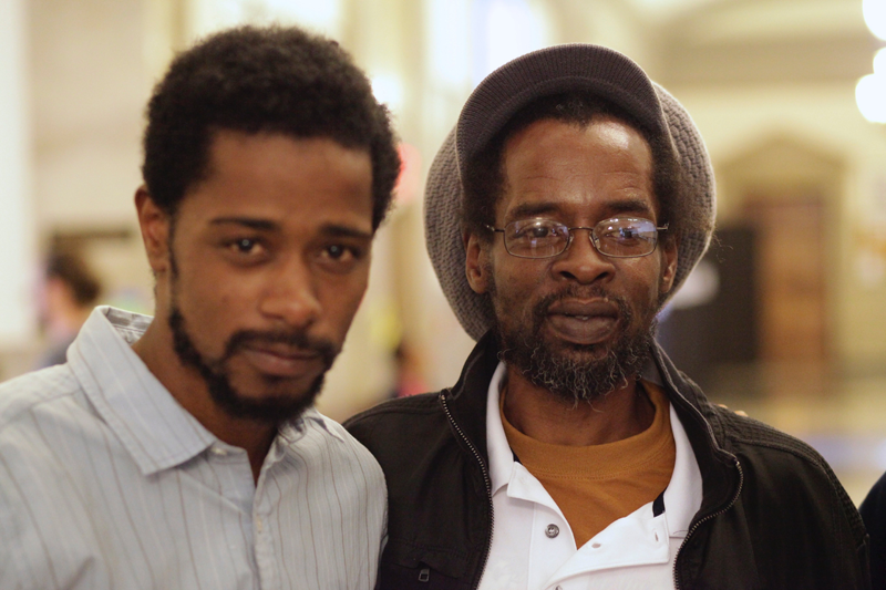 (l-r) Actor Lakeith Stanfield and Colin Warner, CROWN HEIGHTS, Photo Courtesy Amazon and IFC Films.