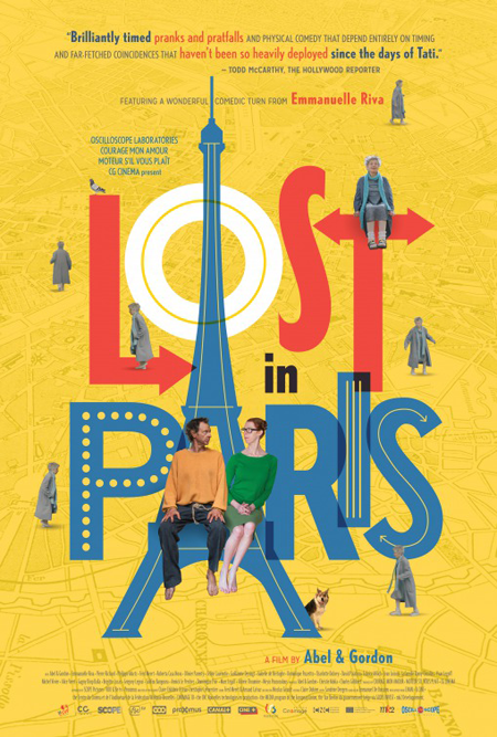 Lost in Paris, poster