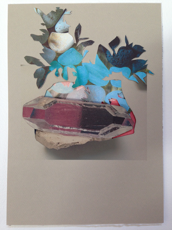 Generation(s), Sea glass cut and collaged inkjet prints on paper