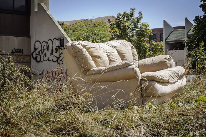 Kennedy Square Demolition Couch